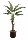 6' TRAVELER'S SILK PALM TREE IN PLANTER
