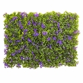 "6"" x 6"" Purple & Green Clover Mat (Set of 12)"