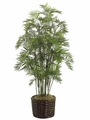 7.5' PARLOUR SILK PALM TREE IN PLANTER