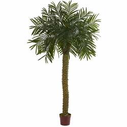 7'' Prikly Palm Artificial Tree UV Resistant (Indoor/Outdoor)