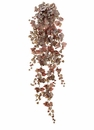 "70"" Grape Ivy Hanging Artificial Bush with 370 Leaves - Set of 4"