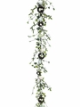 "72"" Artificial Bird's Nest, Egg Silk Ivy Garland - Set of 6"