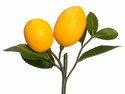 "8.5"" Artificial Lemon Pick - Set of 12"