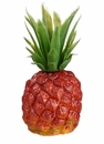 "8"" Artificial Soft Plastic pineapple - Set of 12 - Natural Color"