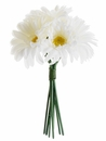 "9.5"" Silk Gerbera Daisy Artifcial Bouquet - Set of 12"