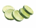 "Artificial 2"" Lime Slices (5 ea./bag) 24 bags Green"