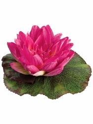 Silk Floating Water Lily Flowers - Set of 24