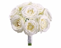 "11"" Artificial Silk Rose Bouquet - Set of 6"