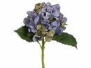 Artificial Single Hydrangea Spray w/Water-Proof Flower Stem-Set of 12