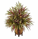 "30"" Artificial Autumn Grass Arrangement  in Decorative Container"