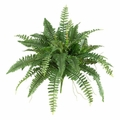 "15"" Artificial Boston Fern Bush (Set of 2) - Non Potted"
