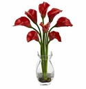 "16"" Classic Calla Lily Artificial Flower Arrangement"