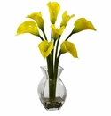 "16"" Classic Calla Lily Arrangement - Yellow"