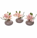 Cymbidium Orchid Artificial Arrangement (Set of 3) -