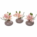 "7"" Cymbidium Orchid Artificial Arrangement (Set of 3)"