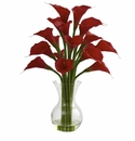 "26"" Galla Calla Lily in Vase Artificial Flower Arrangement"