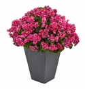 Geranium Artificial Plant in Slate Plater UV Resistant (Indoor/Outdoor) - Beauty