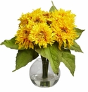 "12"" Golden Sunflower Arrangement"