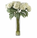 "31"" Hydrangea Silk Flower Arrangement"