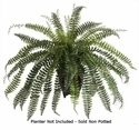 "41"" Large Artificial Fishtail Fern Bush - Non Potted"