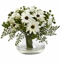 "12"" Large Mixed Daisy Flower Arrangement"