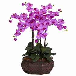 "32"" Large Phalaenopsis Silk Flower Arrangement"
