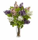 "24"" Lilac Silk Flower Arrangement"