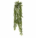 "43"" Mini Artificial Bamboo Hanging Bush Plant (Set of 2) - Non Potted"