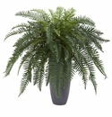 River Fern Artificial Plant in Cylinder Planter -