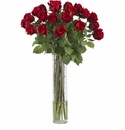 "32"" Artificial Rosebud in Cylinder Silk Flower Arrangement"