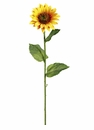"Set of 12 - 23"" Artificial Sunflower Stems"