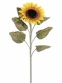 "Set of 12 - 40"" Giant Artificial Silk Sunflower Sprays"