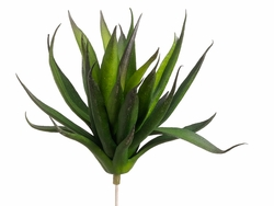 "Set of 12 - 6"" Artificial Agave Bushes"
