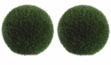 "19"" Large Artificial Grass Balls - Set of 2"