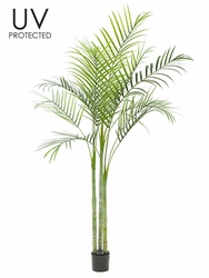 Set of 2 - 6' Outdoor Artificial Areca Palm Trees
