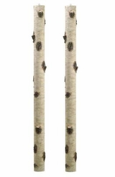 """Set of 2 - 67"""" Artificial Birch Tree Branches"""