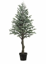 """Set of 2 - Artificial Pine Trees in Pot - 47"""" Tall"""