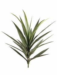 """Set of 3 - 27"""" Artificial Yucca Plants (shown in Green)"""