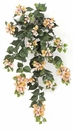 "Set of 4 - 36"" Artificial Outdoor Bougainvillea Flowers - Peach/Pink"