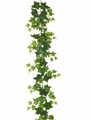 6' Artificial Puff Silk Ivy Garland - Set of 6