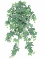 """23"""" Artificial Flocked English Ivy Silk Ledge Bush with 295 Leaves -Set of 12"""