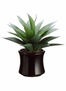 """12"""" Agave Artificial Cactus Plant in Decorative Container"""