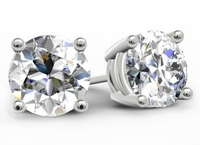 1.50cttw Round Diamond Stud Earrings