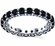 Black Diamond Eternity Band 2.00cttw