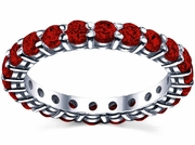 2.00 cttw Ruby Eternity Ring