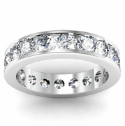 2.75cttw Channel Set Diamond Eternity Wedding Band