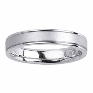 4.5mm Mens or Womens Wedding Band