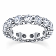 5 Carat Diamond Eternity Wedding Band