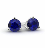 shape mens span sapphire earrings banner cds category blue studs gemstone