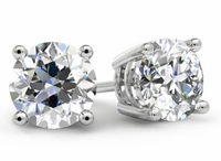 Certified Diamond Stud Earrings
